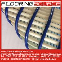 China Non slip pvc tube wet area matting swimming pool matting and changing room matting Black Color Roll Size on sale