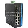 Quality 10 / 100Mbps Industrial Fiber Media Converter , 8 Port Ethernet Switch for sale