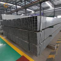 Cheap ASTM steel profile ms square tube galvanized Furniture Rectangular Pipe Factory Construction Rectangular Pipe For Sale for sale