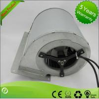 Quality EC Input Double Inlet Centrifugal Fans / Forward Curve Fan Blower 133 * 190mm wholesale