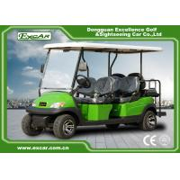 Buy cheap Excar 6 seat Electric golf buggy,48V 3.7KW motor trojan battery golf car from wholesalers
