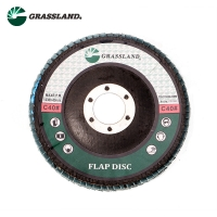 Quality 115X22mm Aluminium Oxide 60 Grit Angle Grinder Flap Disc wholesale