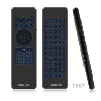 China Mini RF Wireless Air Mouse Tv Remote Backlit Keyboard Effective Battery Saver on sale