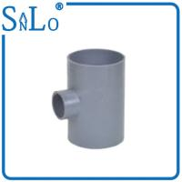 Quality 3 Way Pvc Water Pipe Fittings , Solvent Reducing Tee Pipe Fitting Din wholesale