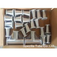 Quality TP316L Sanitary Valves And Fittings 1/2'' - 4'' Stainless Steel Reducing Tee Cross Ends wholesale
