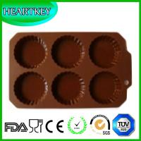 Quality Silicone Mold Cake Soap 3D Food Grade Silicone Jelly Pudding Mold Baking Tray wholesale