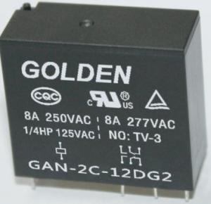 Quality GAN 894 3-110VDC 8A - 12A Normally Closed Automotive Relay 12V 24V wholesale