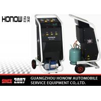 Cheap Manual Mode Car AC Refrigerant Recovery Machine 3600L/ Hour Vacuum Speed for sale