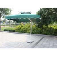 Cheap Backyard Small Rectangular Patio Umbrella , Square Offset Umbrella Sunlight Proof for sale