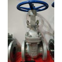China ANSI 16.5 B API 600 Cast Steel Flanged Gate Valve WCB Gate Valve on sale