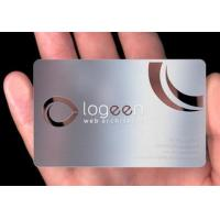 Quality popular business metal card wholesale