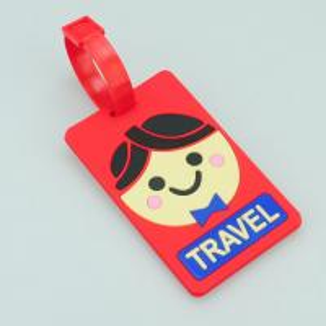 Simple Design personalised bag tag