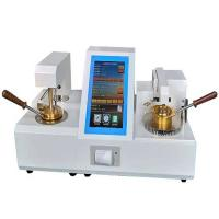 Automatic oil petroleum testing equipment cleveland open cup flash point analyzer