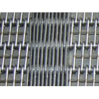 Cheap Straight Running Stainless Steel 304/316 Wire Ring Belt, 50mm rod pitch, 2.5mm wire for sale