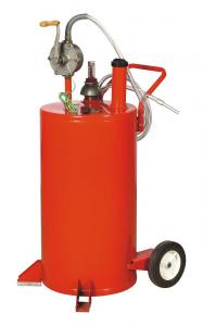 China Fuel Transfer Rolling 20 Gallon Portable Gas Caddy With Pump on sale