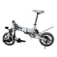 """Quality 14"""" Non Slip Safe Foldable Electric Bike Endurance 3-4 Hours 25 KM/H Max Speed wholesale"""
