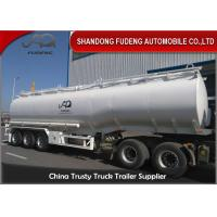 Quality 3/4 Axles 45000 Litres 2/4 Compartments carbon steel Material Fuel Tanker semi Trailer wholesale