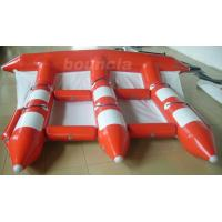 Quality 3.9m Width Red Color Inflatable Towable Fly Fish For Commercial Use wholesale
