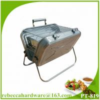 Quality BBQ grill portable stainless steel tabletop charcoal grill wholesale