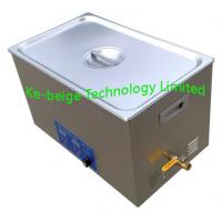 Quality Adjustable Digital Benchtop Ultrasonic Cleaner 22L For Jewelry / Medical Cleaning wholesale