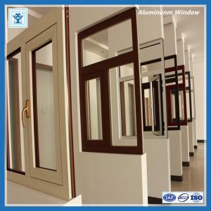 China 2015 aluminum alloy sliding window China manufacturer factory on sale