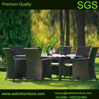 China rattan dining table and chairs on sale