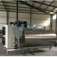 Quality Professional Small Scale Milk Processing Machine Equipment For Sale Stainless Steel Milk Cooling Tank/Milk Cooling Tank wholesale