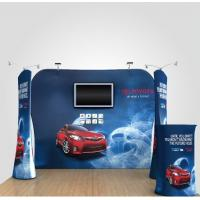 China 8Ft 10Ft 15Ft Tension Fabric Displays Trade Show Booth Displays Waterproof on sale