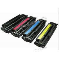 Quality CMYK HP CB540A CB541A Color Toner Cartridges For Laser Jet CP1215 Printer wholesale