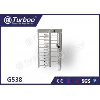 Cheap Semi - Automatic Access Control Turnstile Gate High Temperature Resistance for sale
