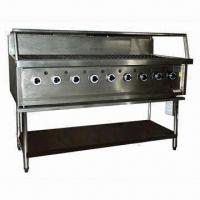 Quality Reef/Beef Gas BBQ Grill with 9 Burner, Available in Natural Gas and LPG wholesale