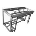 Shelves Accessories Table T Slot Aluminium Extrusion Profiles for sale