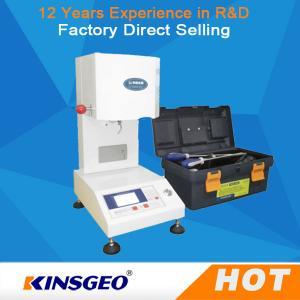 Quality KJ-3092 Melt Flow Index Measurement , Electronic Plastic Testing Instrument wholesale