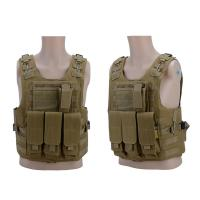 China Outdoor Ultra-Light Breathable Combat Training Vest Army Vest with pouch for sale