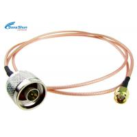 China 50ohm WiFi Flexible RF Cable , 2.4g System RF Microwave Cable Assemblies on sale