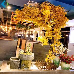 China Artificial Ginkgo Biloba Tree , 2.5m Height Yellow Ginkgo Tree Customized Design on sale