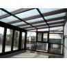 Buy cheap Waterproof Aluminum Sun Room Tempered Glass Garden Green House Energy Saving from wholesalers