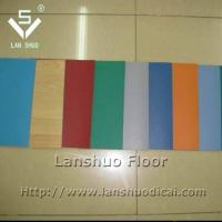 China PVC plastic floor covering on sale