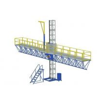 China 1000 kg Single Mast Climbing Work Platform for Working Height 100 m on sale