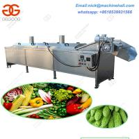Quality Industrial Vegetable Cooking and Blanching Machine|Automatic Potato Chips Cooking and Blanching Machine wholesale