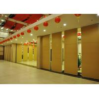 Quality Training Room Sound Deadening Panels ,  Folding Office Partition Door 65mm wholesale
