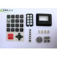 China Multicolour Tv Remote Keypad , High Grade Silicone Remote Control Pad Pass ISO Test on sale
