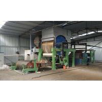 Quality Small scale waste paper recycling 787mm toilet paper roll making machine price wholesale