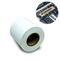 7812 50# 25# 3M Scotch Tape Thermal Transfer Polyimide Label White Color Acrylic Adhesive