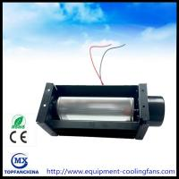 China Oven Appliance Parts Cross Flow Fans Brushless 12 Volt Tangential Fan on sale