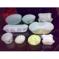 Quality Greaseproof Paper Cake Tray Forming Machine Disposable Cups And Plates Making Machine wholesale