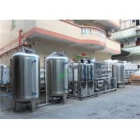 Quality Reverse Osmosis Brackish Water Treatment Plant RO System SUS304 Material wholesale