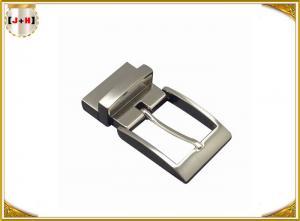 Quality Shiny Gunmetal  Zinc Alloy Custom Belt Buckle Special For Men , Inner Size 35 Mm wholesale
