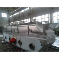 Quality Vibrating Continuous Fluid Bed Dryer Machine Fully Closed Structure For Chemical Industries wholesale