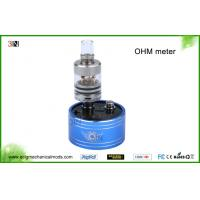 China 510 Ego Thread Electronic Cigarette Accessories , Ecig Volt Ohm Checker Atomizer Resistance Ohm Meter on sale